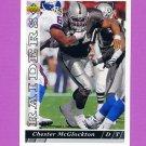 1993 Upper Deck Football #178 Chester McGlockton - Los Angeles Raiders