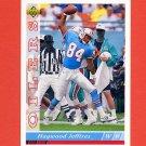 1993 Upper Deck Football #129 Haywood Jeffires - Houston Oilers