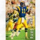1993 Upper Deck Football #085 Jim Everett - Los Angeles Rams
