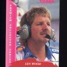 1993 Traks Racing #038 Len Wood