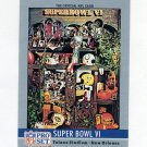 1990 Pro Set Theme Art Football #06 Super Bowl VI Dallas Cowboys / Miami Dolphins