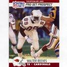 1990 Pro Set Football #747 Walter Reeves - Phoenix Cardinals