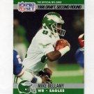 1990 Pro Set Football #719 Mike Bellamy RC - Philadelphia Eagles