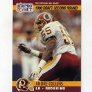 1990 Pro Set Football #715 Andre Collins RC - Washington Redskins