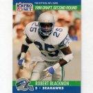 1990 Pro Set Football #703 Robert Blackmon RC - Seattle Seahawks