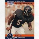 1990 Pro Set Football #702 Ron Cox RC - Chicago Bears