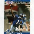 1990 Pro Set Football #675 Andre Ware - Detroit Lions