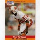 1990 Pro Set Football #658 Ricky Reynolds - Tampa Bay Buccaneers