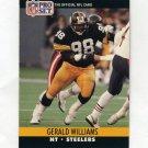 1990 Pro Set Football #625 Gerald Williams - Pittsburgh Steelers