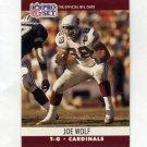 1990 Pro Set Football #620 Joe Wolf - Phoenix Cardinals