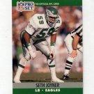 1990 Pro Set Football #609 Seth Joyner - Philadelphia Eagles
