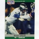 1990 Pro Set Football #608 Mickey Shuler - Philadelphia Eagles
