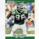 1990 Pro Set Football #604 Ron Stallworth - New York Jets