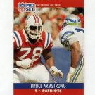 1990 Pro Set Football #575 Bruce Armstrong - New England Patriots