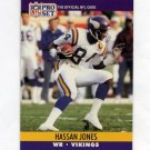 1990 Pro Set Football #570 Hassan Jones - Minnesota Vikings