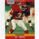 1990 Pro Set Football #534 Kevin Ross - Kansas City Chiefs