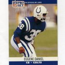 1990 Pro Set Football #521 Eugene Daniel - Indianapolis Colts