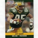 1990 Pro Set Football #506 Jeff Query - Green Bay Packers