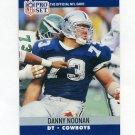 1990 Pro Set Football #481 Danny Noonan - Dallas Cowboys