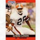1990 Pro Set Football #471 Raymond Clayborn - Cleveland Browns