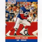 1990 Pro Set Football #437 Shane Conlan - Buffalo Bills