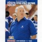 1990 Pro Set Football #426 John Robinson CO - Los Angeles Rams