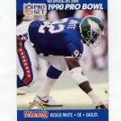 1990 Pro Set Football #423 Reggie White - Philadelphia Eagles