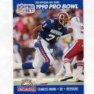1990 Pro Set Football #402 Charles Mann - Washington Redskins