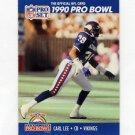 1990 Pro Set Football #399 Carl Lee - Minnesota Vikings