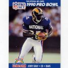 1990 Pro Set Football #391 Jerry Gray - Los Angeles Rams