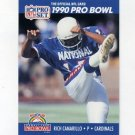 1990 Pro Set Football #383 Rich Camarillo - Phienix Cardinals
