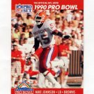 1990 Pro Set Football #347 Mike Johnson - Cleveland Browns
