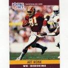 1990 Pro Set Football #328 Art Monk - Washington Redskins