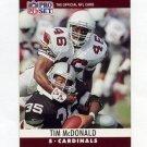 1990 Pro Set Football #259 Tim McDonald - Phoenix Cardinals