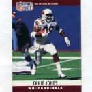 1990 Pro Set Football #258 Ernie Jones RC - Phoenix Cardinals