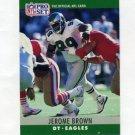 1990 Pro Set Football #244 Jerome Brown - Philadelphia Eagles