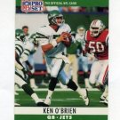 1990 Pro Set Football #239 Ken O'Brien - New York Jets