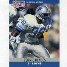 1990 Pro Set Football #097 Bennie Blades - Detroit Lions