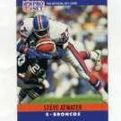 1990 Pro Set Football #086 Steve Atwater - Denver Broncos