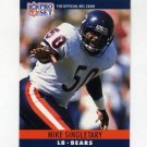 1990 Pro Set Football #057 Mike Singletary - Chicago Bears