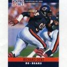 1990 Pro Set Football #052 Richard Dent - Chicago Bears