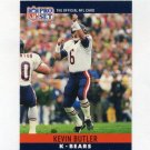 1990 Pro Set Football #050 Kevin Butler - Chicago Bears