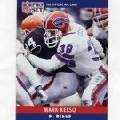 1990 Pro Set Football #041 Mark Kelso - Buffalo Bills