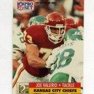 1991 Pro Set Football #779 Joe Valerio RC - Kansas City Chiefs
