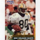 1991 Pro Set Football #771 Wesley Carroll RC - New Orleans Saints