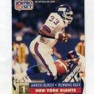 1991 Pro Set Football #756 Jarrod Bunch RC - New York Giants