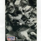 1991 Pro Set Football #714 3rd Place BW Photo / Pete Holohan / Barney Bussey / Carl Carter