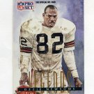 1991 Pro Set Football #699 Ozzie Newsome - Cleveland Browns