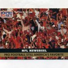 1991 Pro Set Football #690 Sports Illustrated