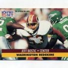 1991 Pro Set Football #676 Jeff Bostic - Washington Redskins